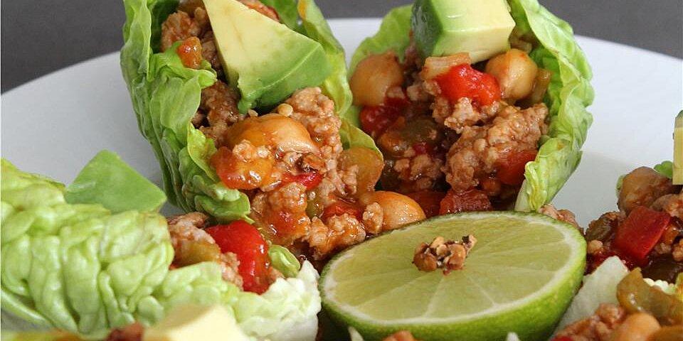 spicy chipotle lettuce wraps recipe