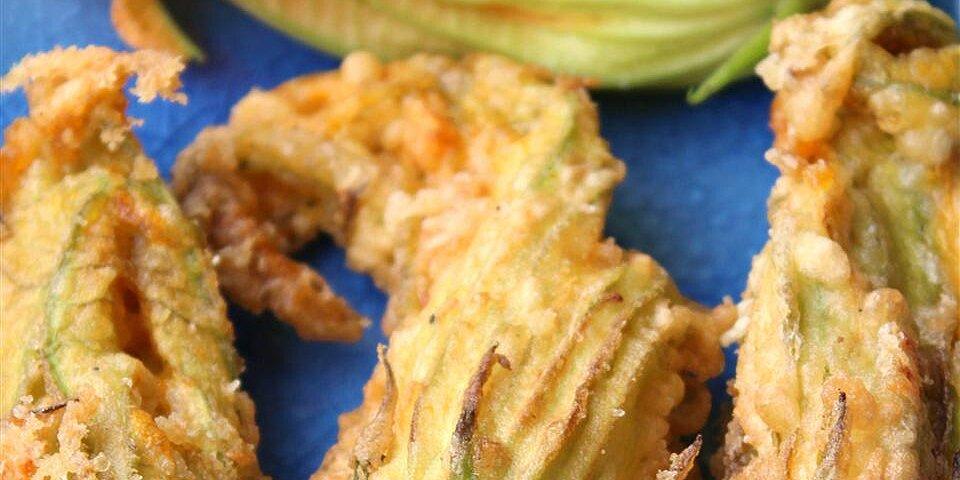 gluten free stuffed zucchini blossoms fior di zucca ripieni