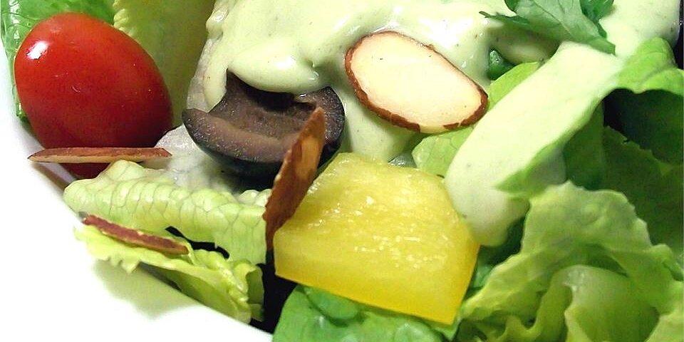 avocado green goddess dressing recipe