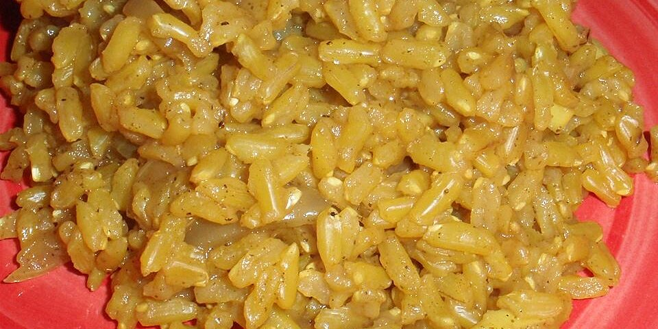 brown rice curry recipe