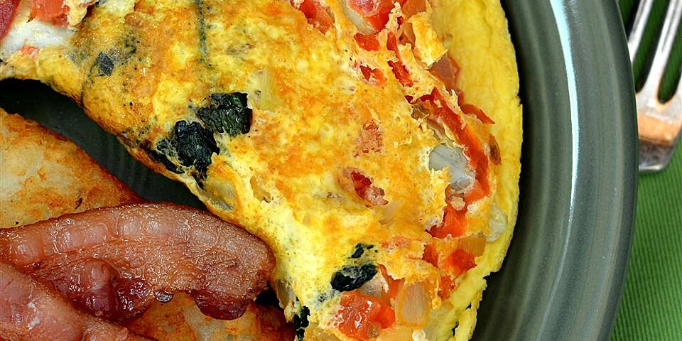 spinach artichoke omelet recipe