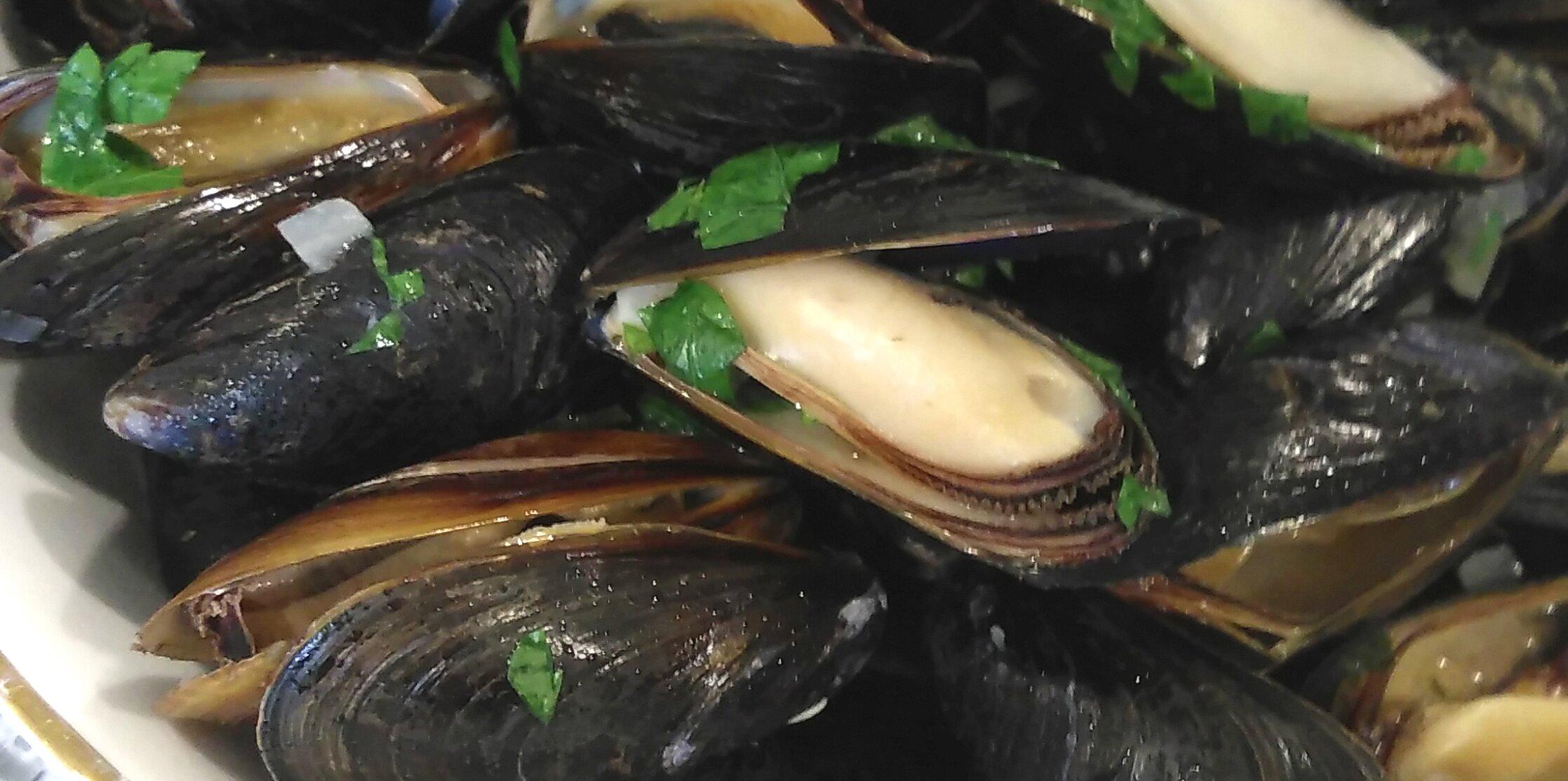 mussels mariniere recipe