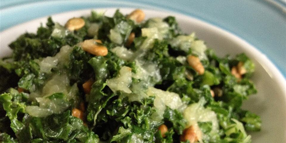 kale salad with pineapple dressing recipe