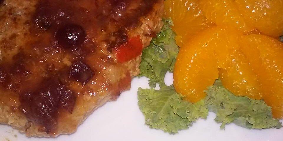 back to turkey salisbury steak with cranberry orange gravy recipe