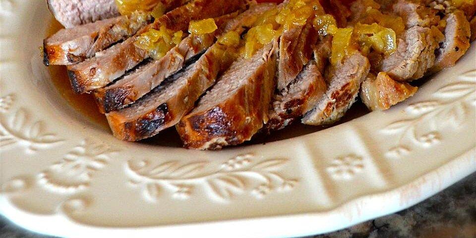 maple and garlic marinated pork tenderloin recipe