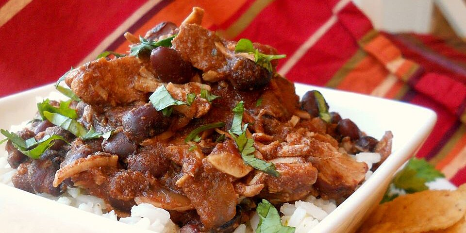 jerres black bean and pork tenderloin slow cooker chili