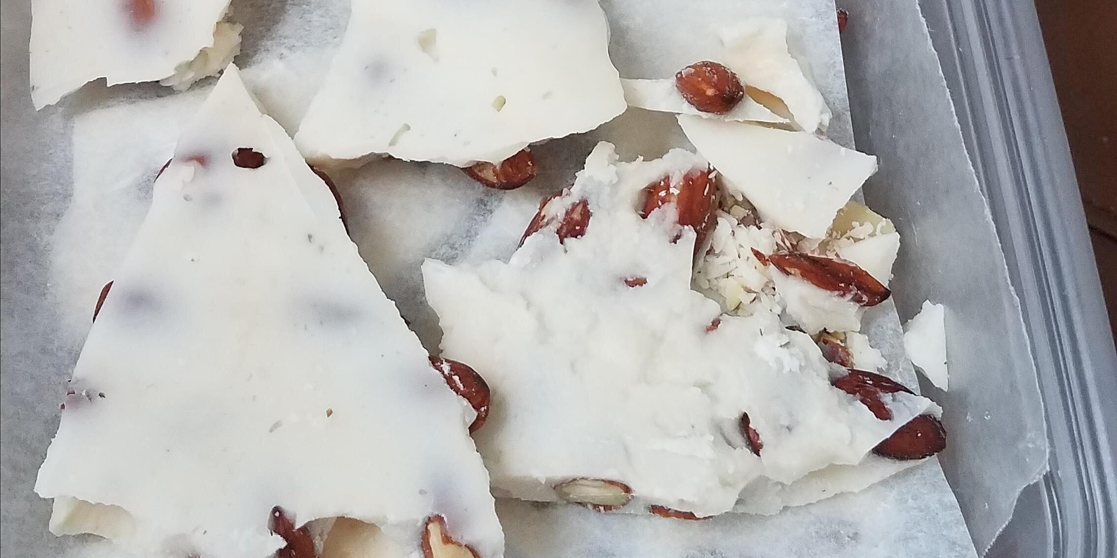 the best white chocolate almond bark recipe