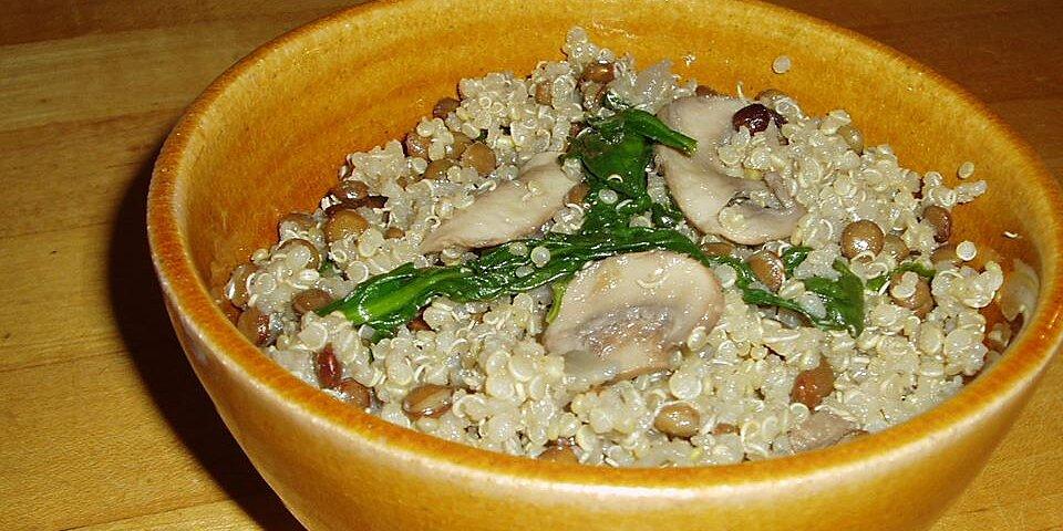 quinoa chard pilaf recipe