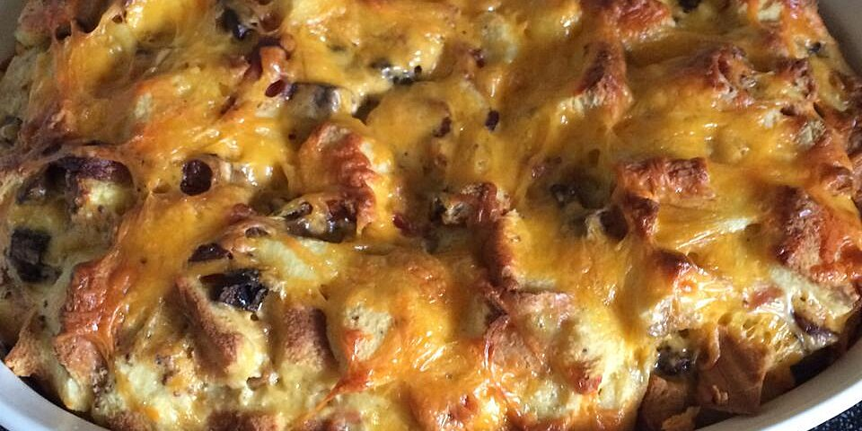 bacon egg and cheese strata recipe