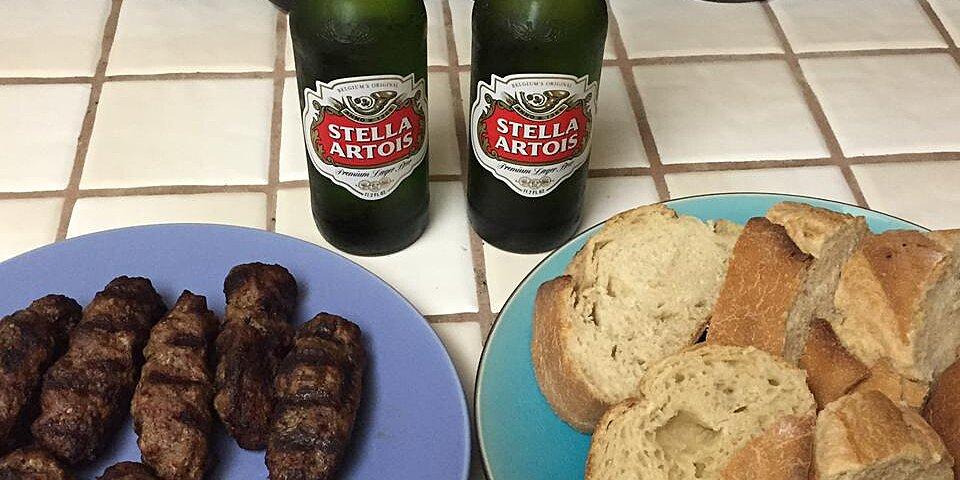 romanian grilled minced meat rolls recipe