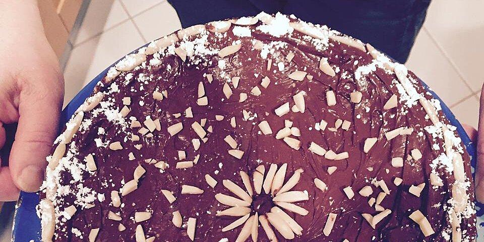 chocolate passover sponge cake recipe