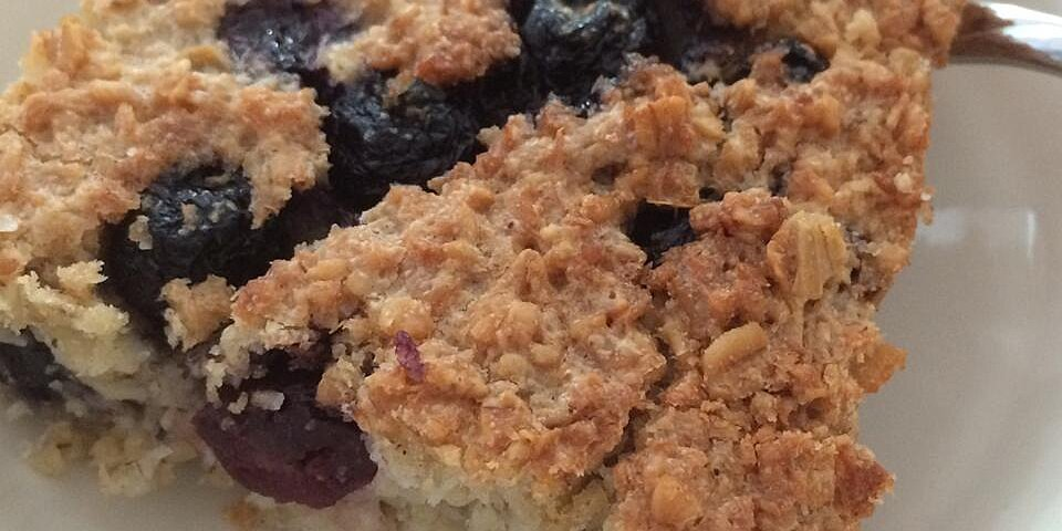 coconut blueberry baked oatmeal recipe