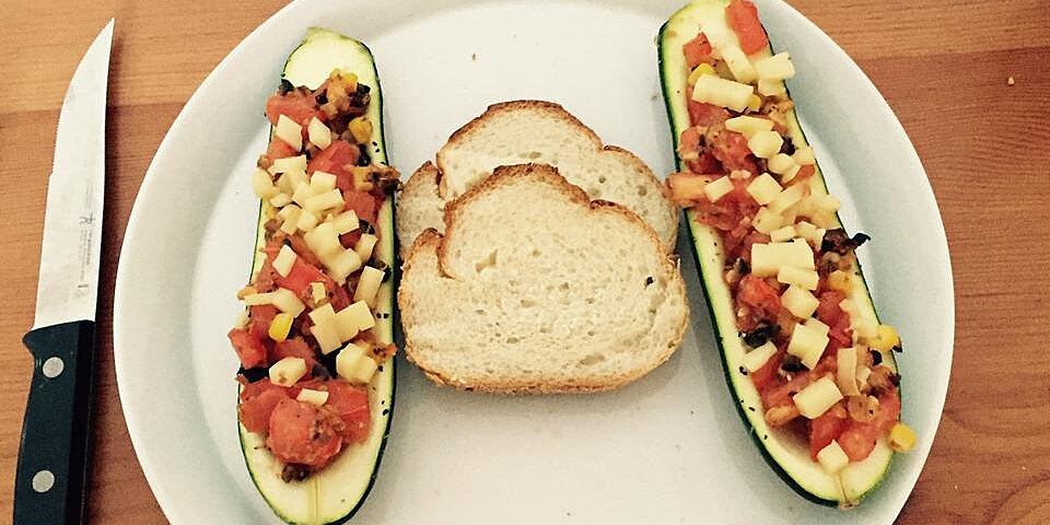 italian style stuffed zucchini kid friendly recipe