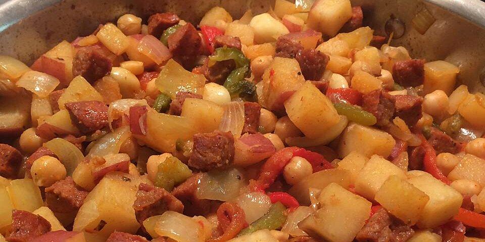 chickpeas and chorizo recipe