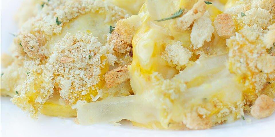 unbelievable squash casserole recipe