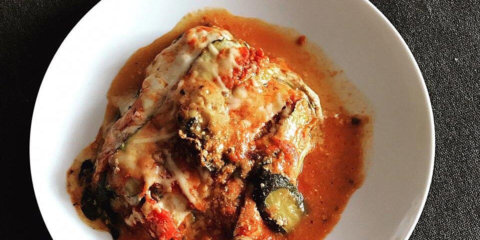 zucchini parmesan lasagna style recipe