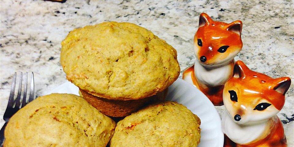 vegan carrot cake muffins recipe
