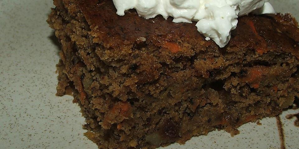 apple carrot or zucchini cake recipe