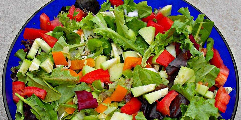 green salad recipe