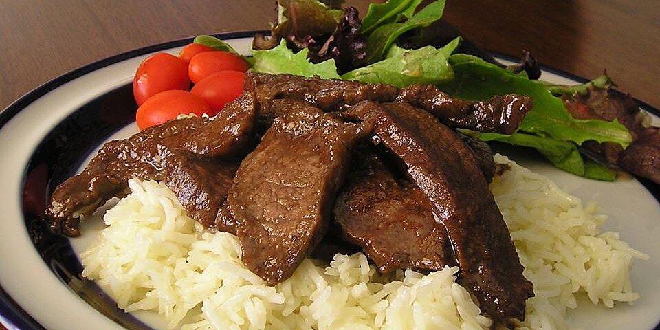 marinated flat iron steak recipe