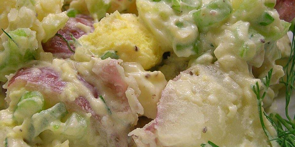 red potato salad recipe