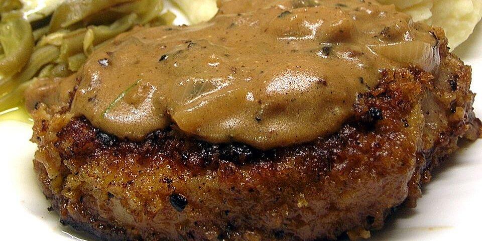 grandmas pork chops in mushroom gravy recipe