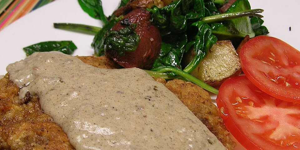 country fried steak and milk gravy recipe
