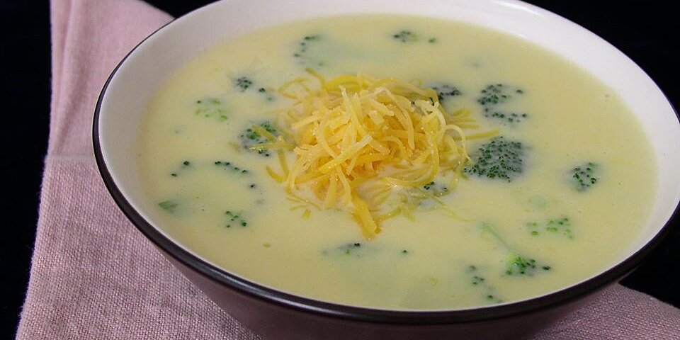 excellent broccoli cheese soup recipe
