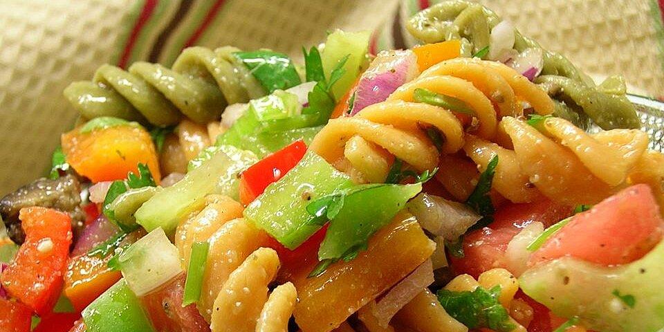 three pepper pasta salad recipe