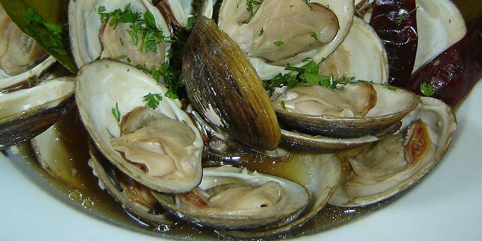 clams in oyster sauce recipe
