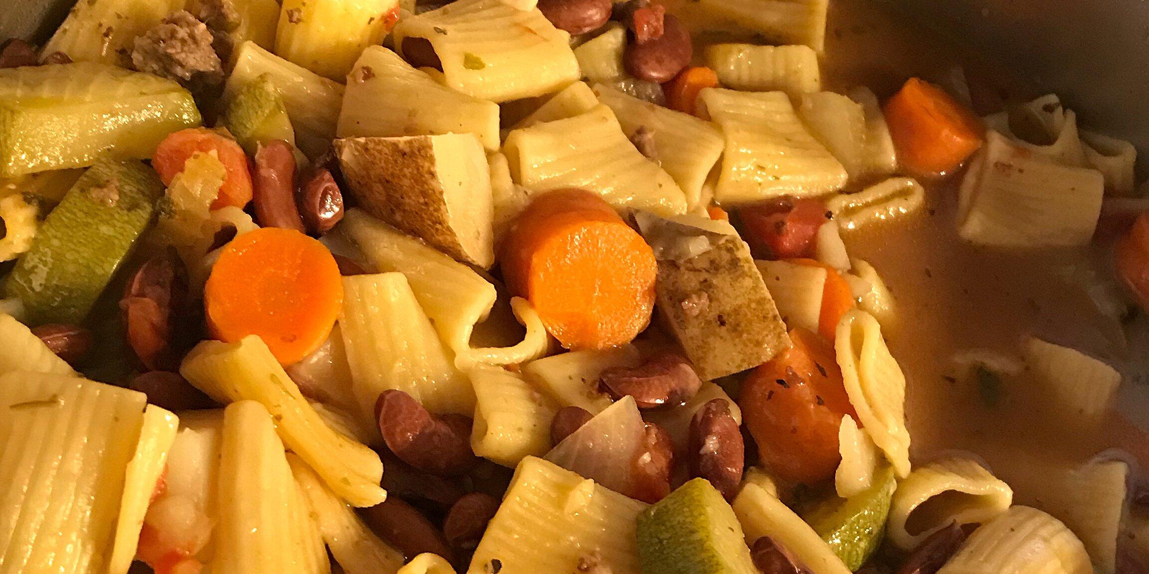 italian sausage soup ii recipe