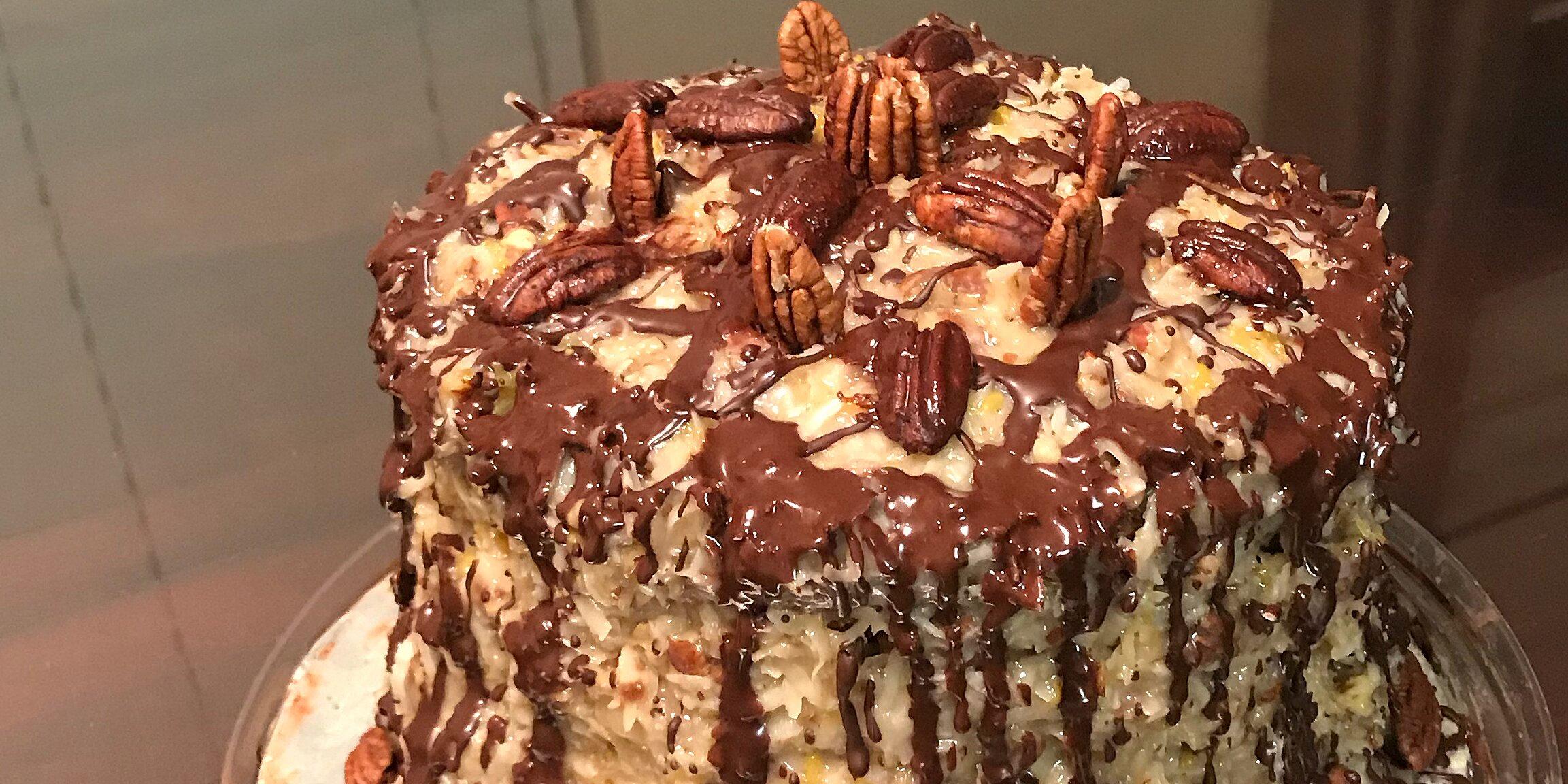 german sweet chocolate cake ii recipe