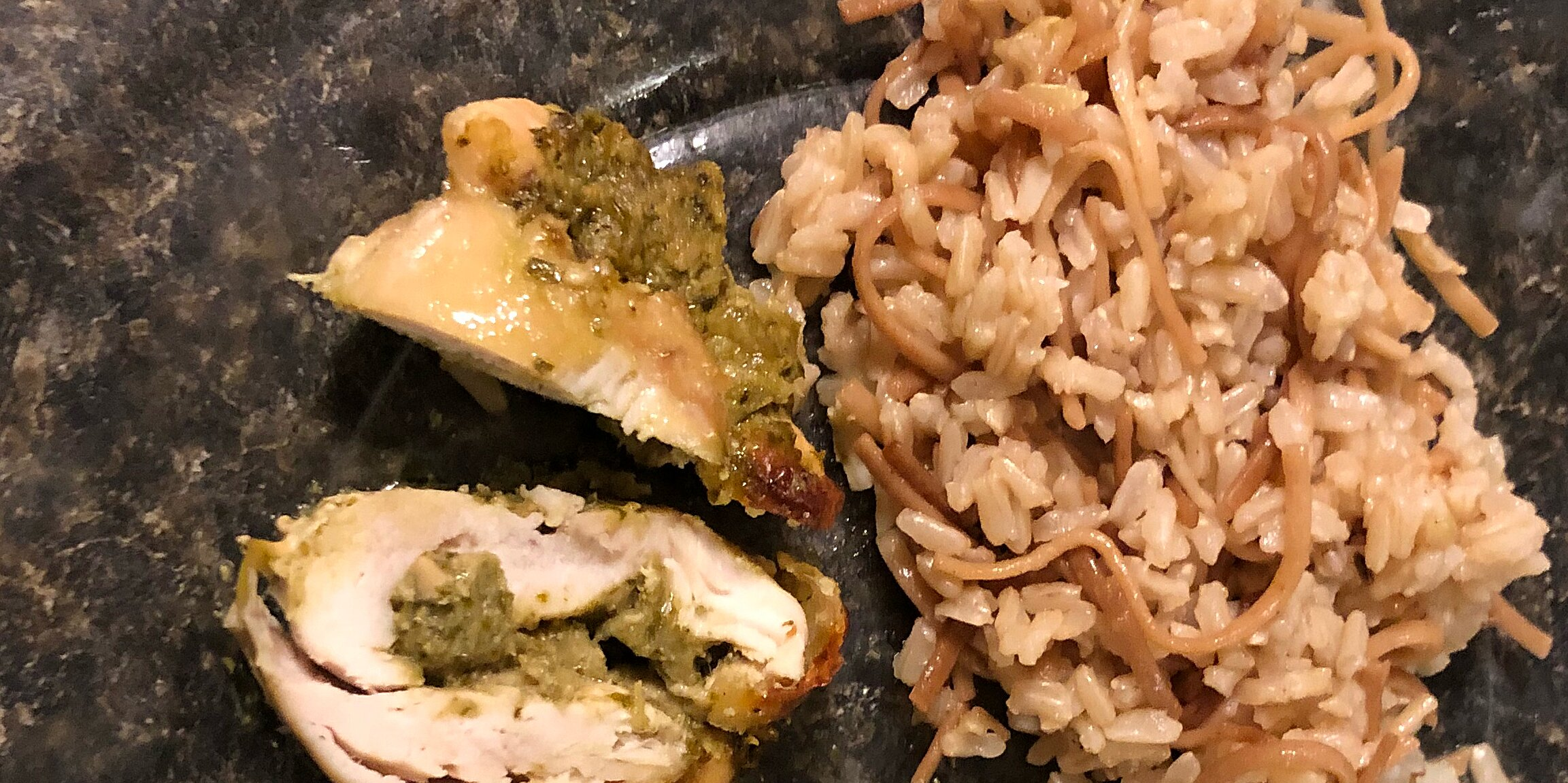 pesto cheesy chicken rolls recipe