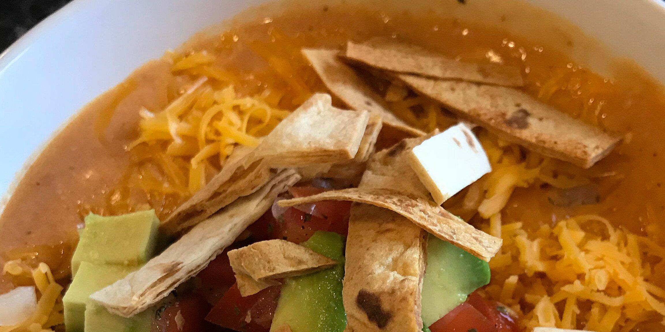chicken enchilada soup ii recipe