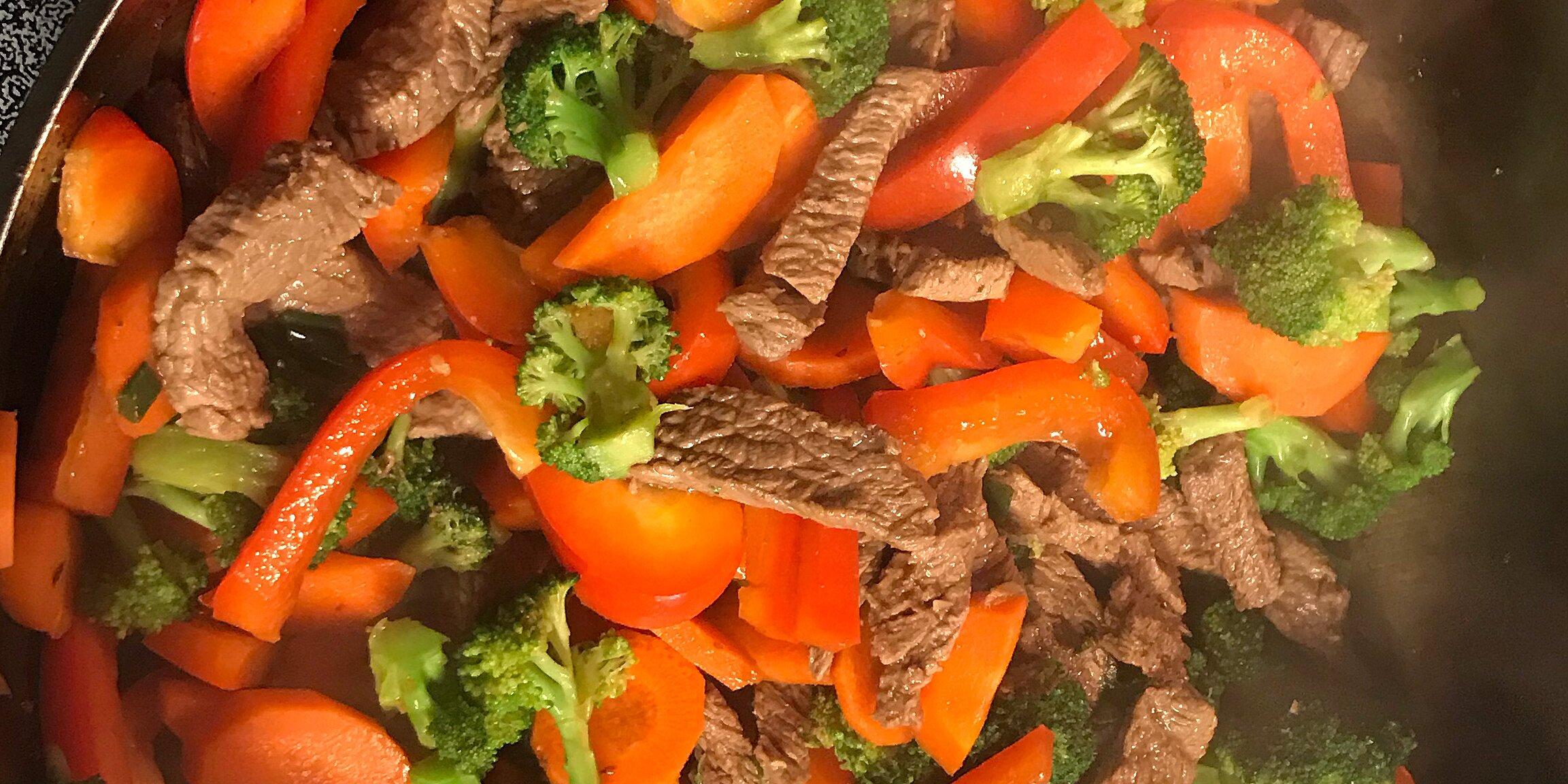 quick beef stir fry recipe