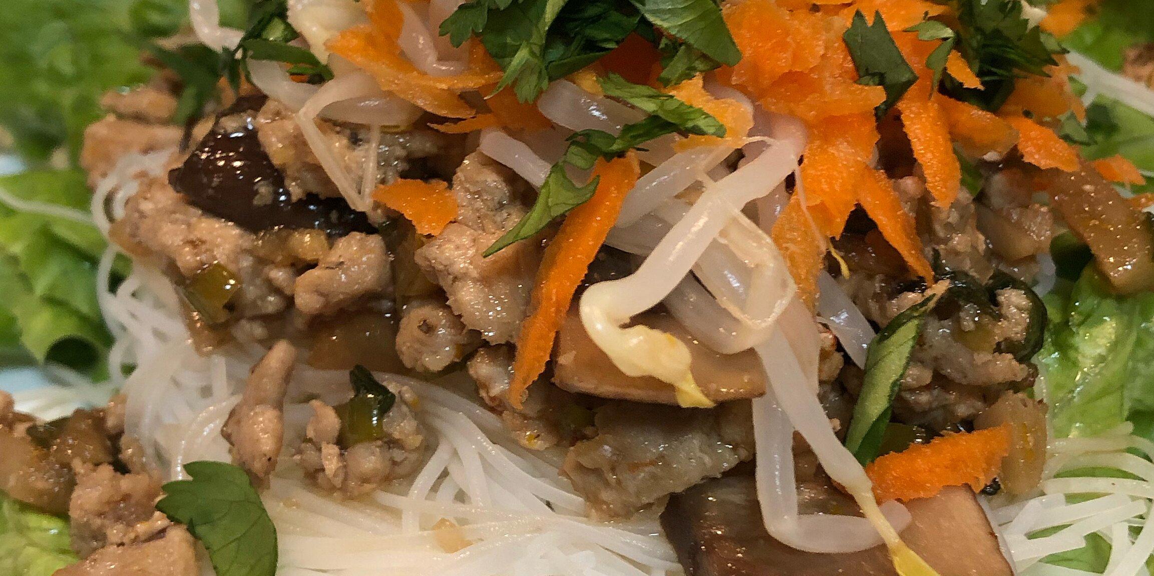turkey lettuce wraps with shiitake mushrooms recipe