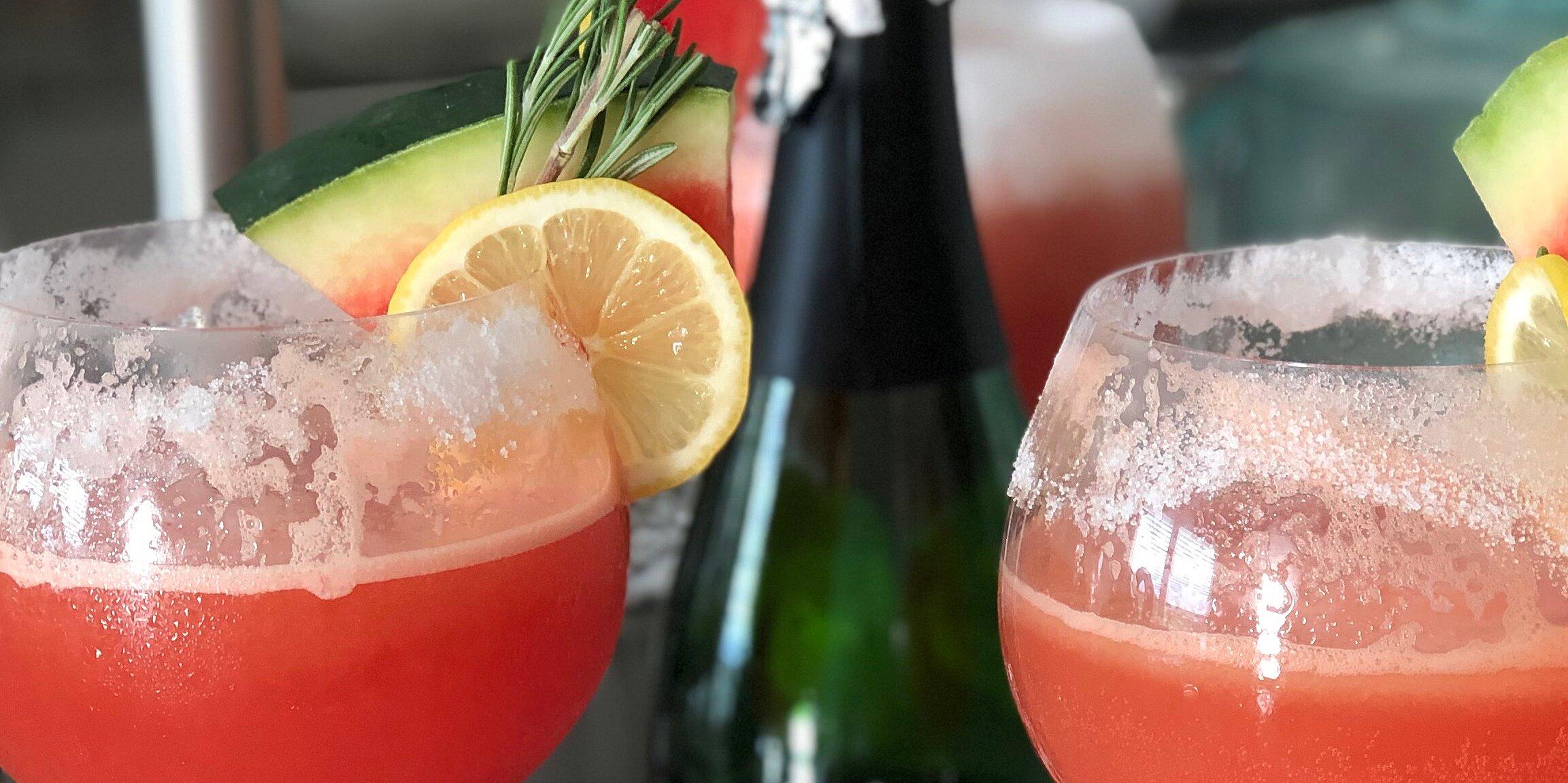rosemary infused watermelon lemonade recipe