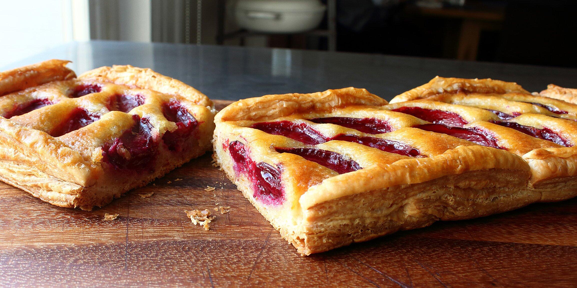 fresh fruit frangipane tart recipe