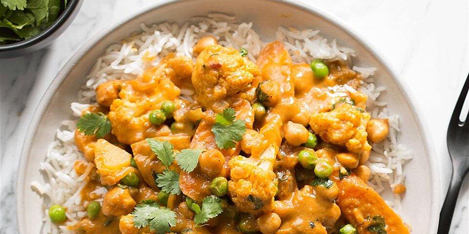 crazy creamy chickpea curry