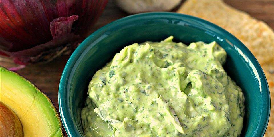 avocado spinach dip recipe