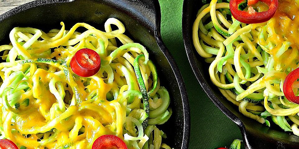 cheese and vegetable noodle medley recipe
