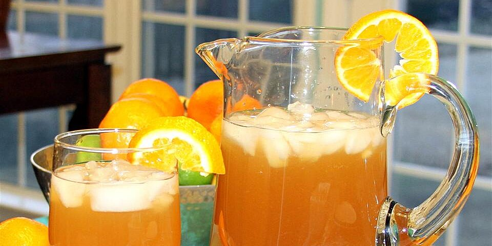 peach orange iced tea recipe
