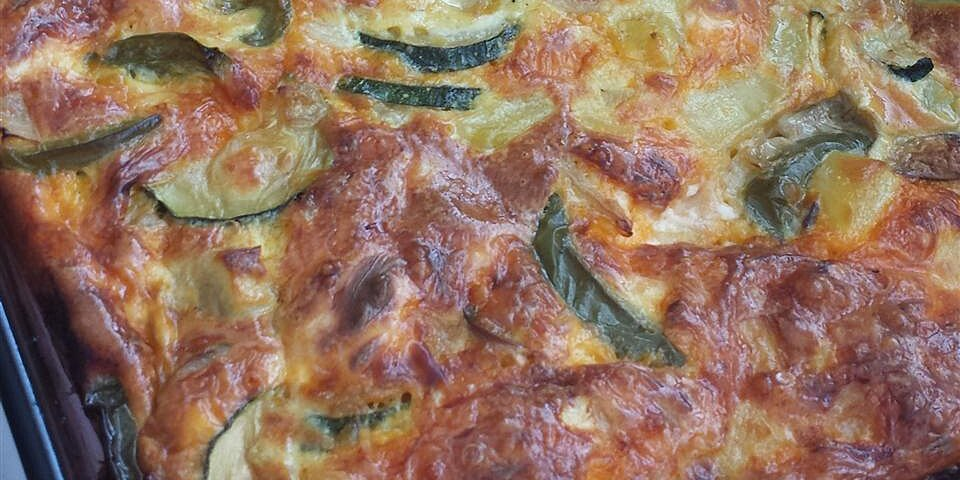 hot or cold vegetable frittata recipe