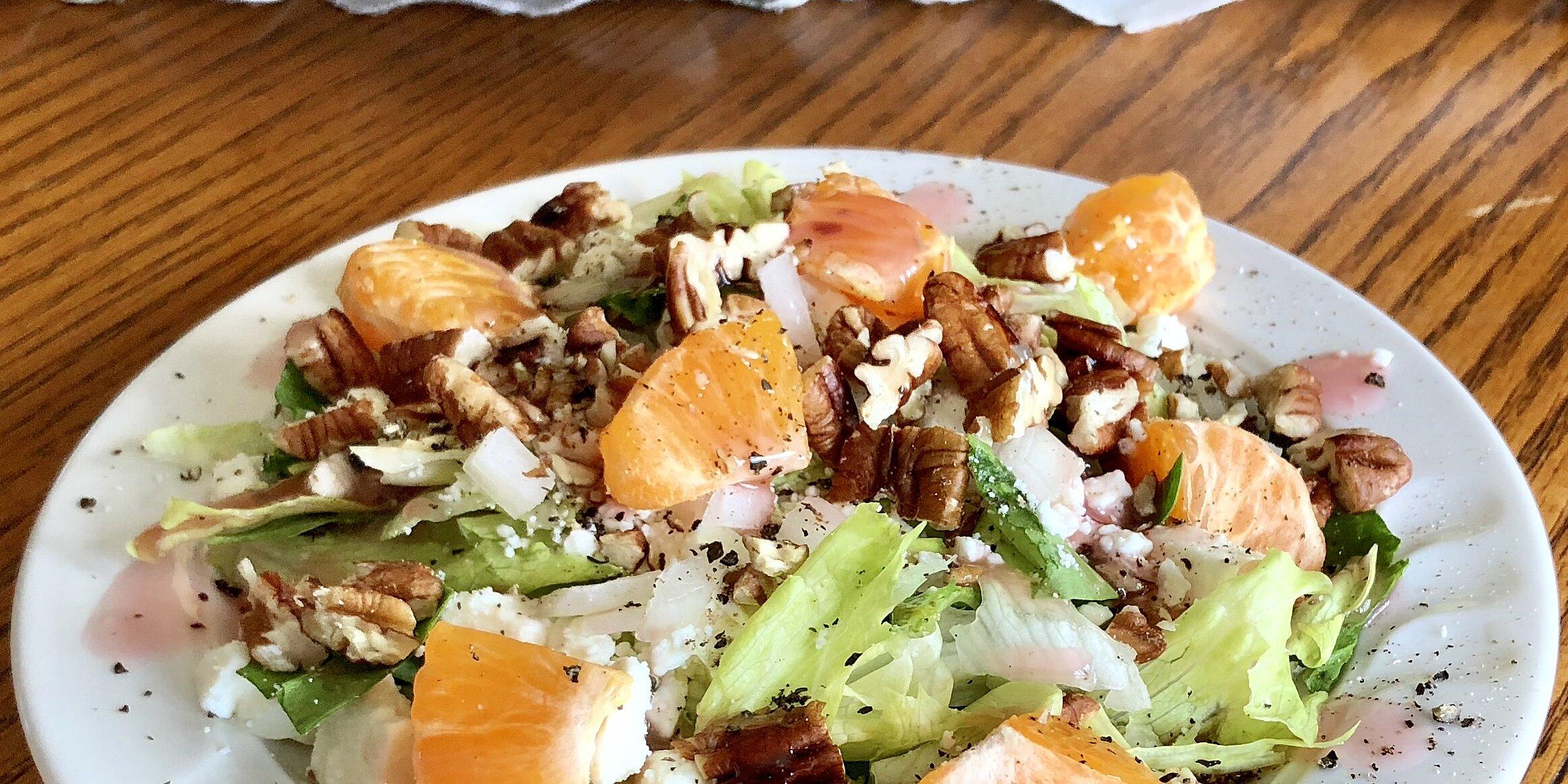 fabulous fruit and feta salad recipe