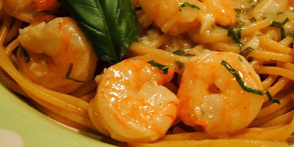quick shrimp scampi pasta recipe