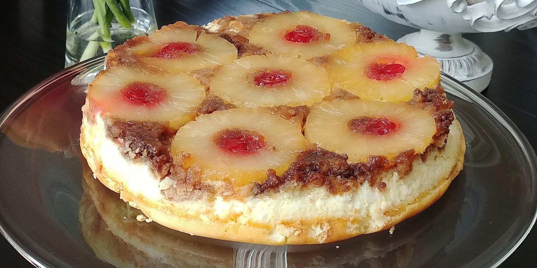 pineapple upside down cheesecake recipe