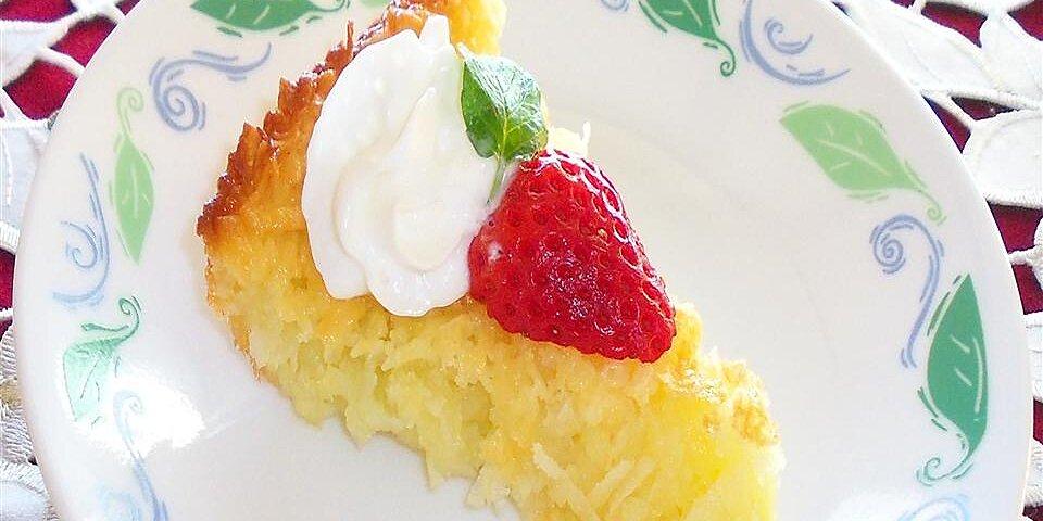 cream of coconut pie recipe