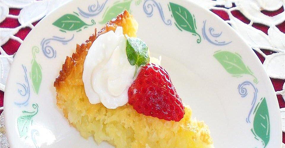 Cream of Coconut Pie
