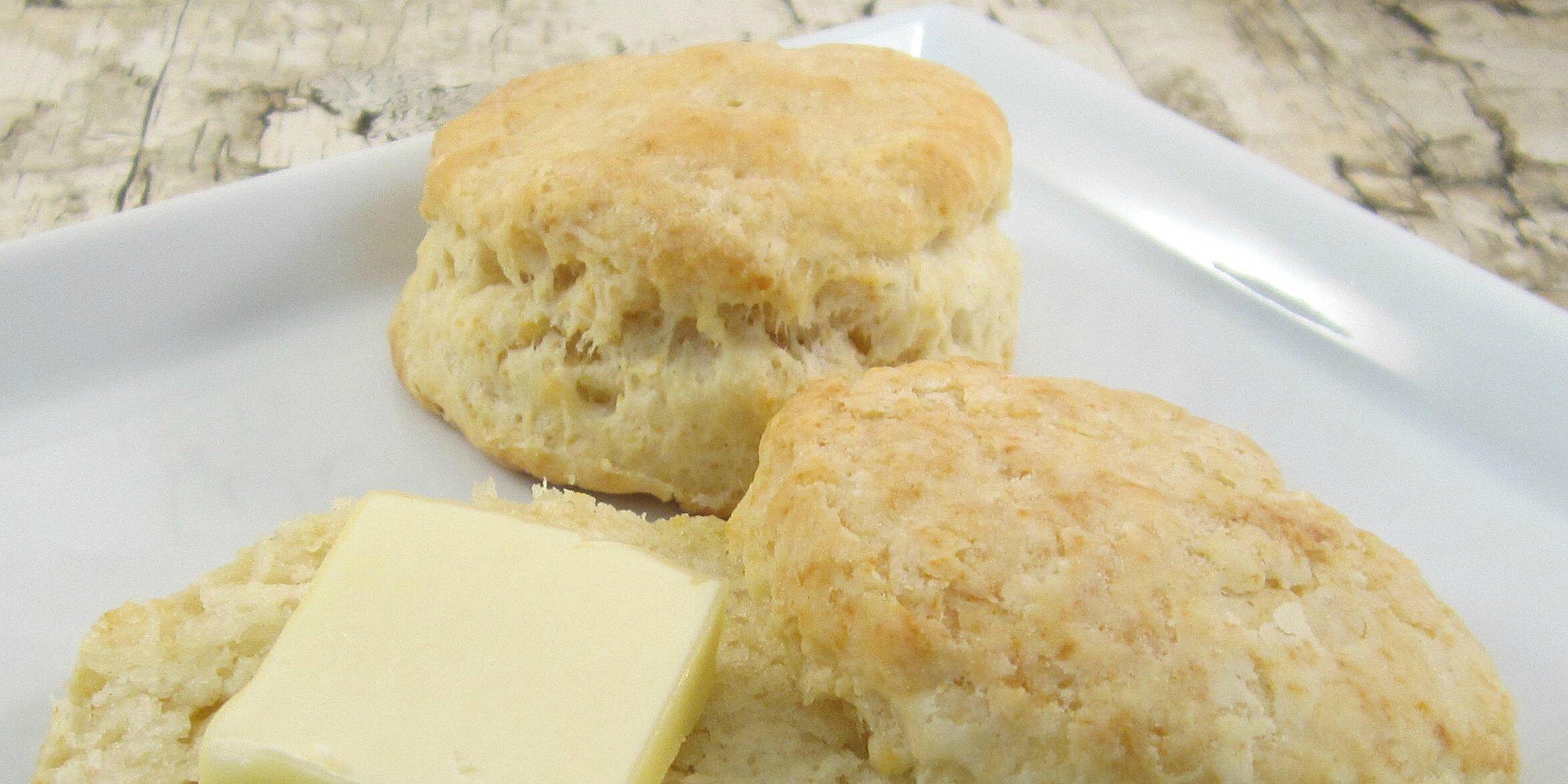 fluffy sour cream biscuits recipe