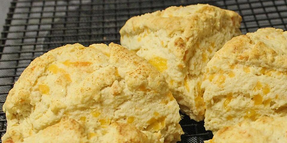 Easy Cheese And Garlic Scones Recipe Allrecipes